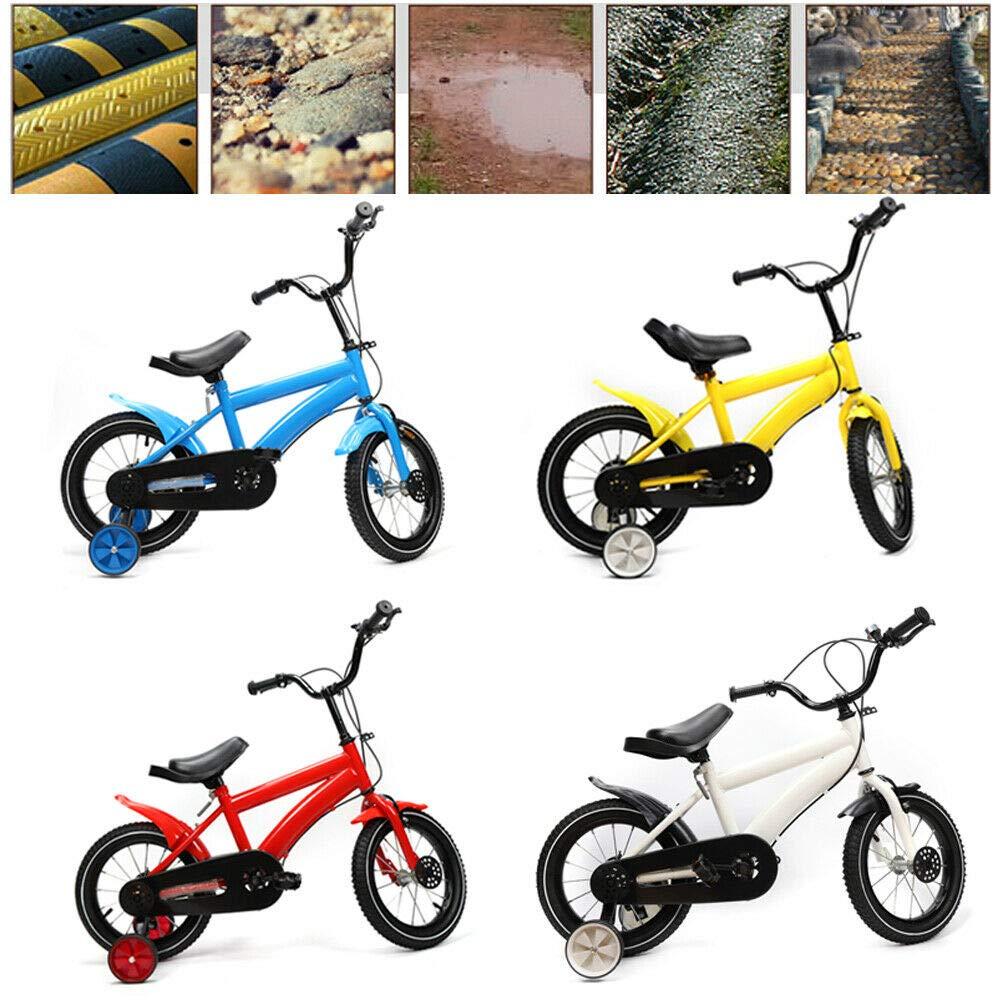 Shioucy - Bicicleta infantil de 14 pulgadas, para niños y niñas, bicicleta infantil, Niños infantil, azul: Amazon.es: Deportes y aire libre