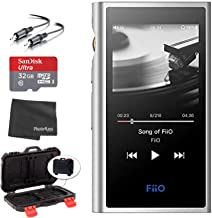 $249 » FiiO M9 Portable High-Resolution Lossless Wireless Music Player (Black) + microSDHC 32GB Card + Memory Card Hardcase + Ste...