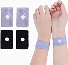 Letool2 Pairs Anti-Nausea Wristbands SICKNESS Motion Sick Car Flying Pregnancy Sea Trips