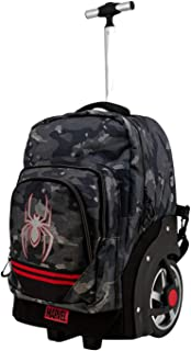 Spiderman Dark - Mochila Trolley Travel GTX, Multicolor