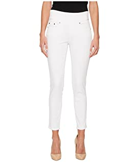 Nora Skinny Ankle Pull-On Jeans in Freedom Knit Denim