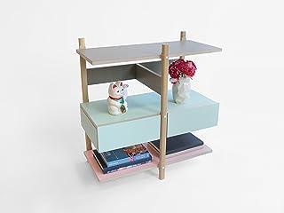 Pila Mensola Cassetto - Olandese - Design - a mano - Living - Elettrodomestici - Legno - Modulare - Lorier