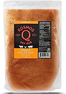 Kosmos Q Honey Killer Bee BBQ Rub | Sweet & Savory Blend | Great on Brisket, Steak, Chicken, Ribs & Pork | Best Ba...