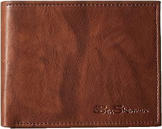 Ben Sherman Manchester Men's Full Grain Leather Passcase Wallet