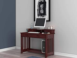 Discovery World Furniture Student Desk with Hutch and Chair, Merlot