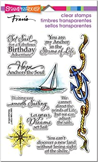 STAMPENDOUS Clear Stamp Set, Nautical Anchor