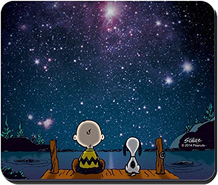 CafePress - Spaced Out - Peanuts - Non-Slip Rubber Mousepad, Gaming Mouse Pad