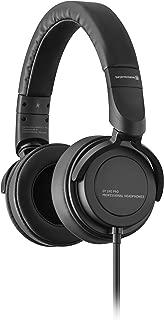 Beyerdynamic 拜雅 DT240 Pro 黑色耳罩式录音室耳机 封闭式结构 有线耳机 可插接耳机线