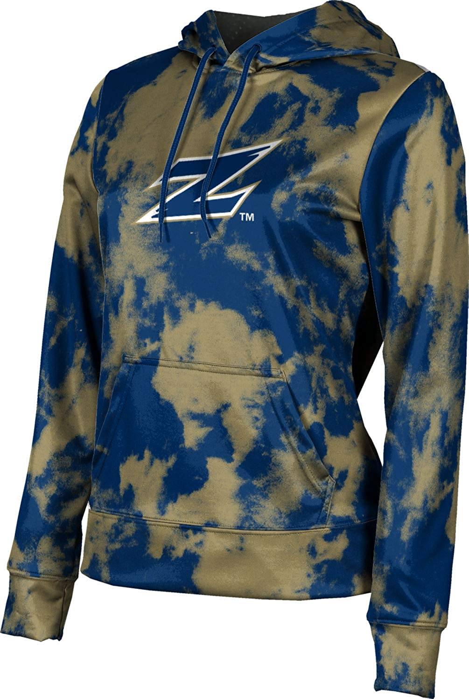 ProSphere University of Akron Girls' Pullover Hoodie, School Spirit Sweatshirt (Grunge)