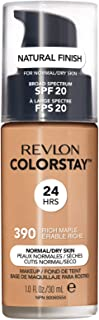 Revlon ColorStay Liquid Foundation For Normal/dry Skin, SPF 20, Rich Maple, 1 Fl Oz