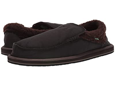Sanuk Chiba Chill (Black/Brown) Men