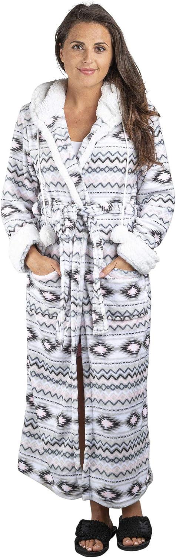 定価 TrailCrest Aztec Womens Lightweight Soft Hooded Kimono Fleece 5☆好評 wr