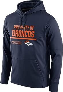 VF LSG Men's Denver Broncos Circuit Sideline Pullover Pullover Hoodie