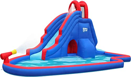 discount SUNNY & new arrival FUN Deluxe Inflatable wholesale Water Slide Park outlet online sale