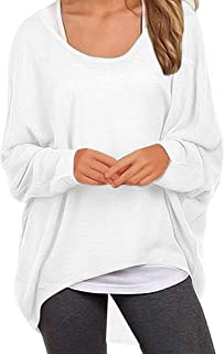 UGET Women's Sweater Casual Oversized Baggy Loose Fitting...