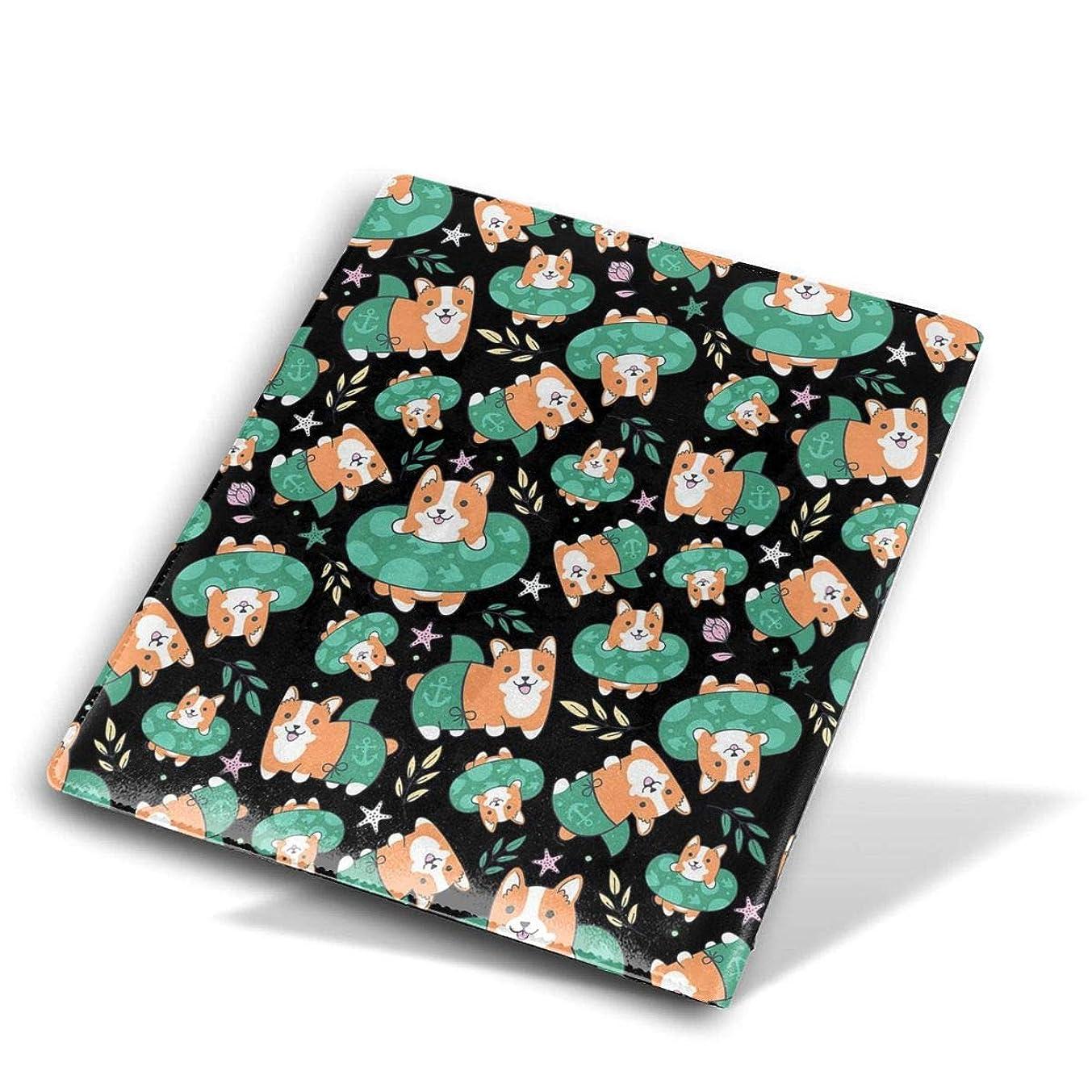 前奏曲社交的ファイター教科書用 ブックカバー 印刷されたパターンを使って 簡単なアクセスと取り外し Size 28*51 Cm コーギー犬 水泳