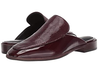 rag & bone Aslen Loafer Mule (Merlot) Women