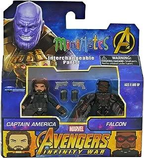 Minimates Marvel Toys R Us Infinity War Wave 2 Captain America & Falcon 2-Pack