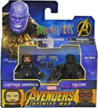 Minimates Marvel Toys R Us Infinity War Wave 2 Captain America & Falcon 2-Pack