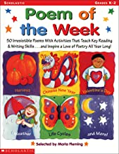 Poem of the Week: 50 Irresistible Poems With Activities that Teach Key Reading & Writing Skills . . . and Inspire a Love Of Poetry All Year Long!