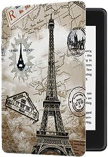 JMH Etui na wszystkie nowe Kindle (wydanie 10. generacji-2019, model nr J9G29R), skóra PU inteligentny pokrowiec ochronny ...