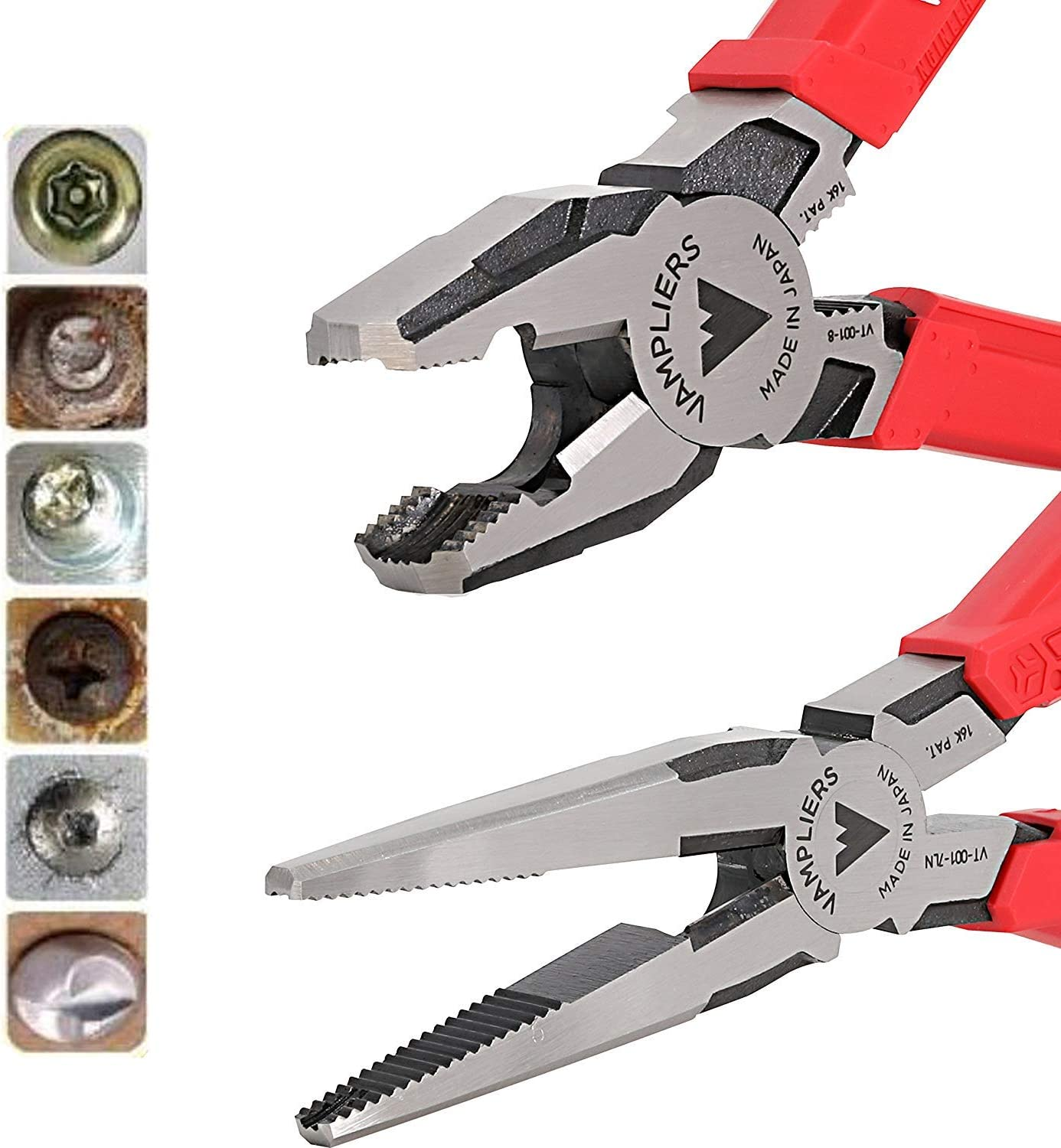 VamPLIERS World's Max 71% OFF Best Award Pliers VT-001-S2J Damage Rusted Security