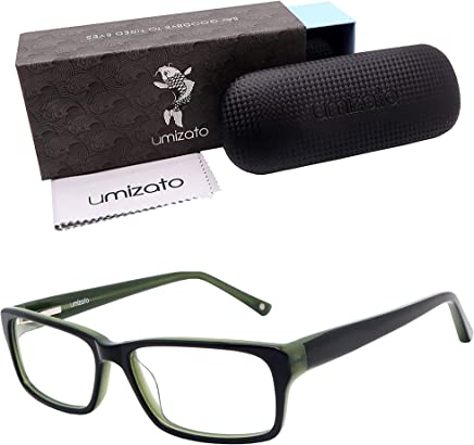 1c153e9eeca Umizato Blue Light Blocking Computer Gaming Glasses for Men Women -  Handcrafted Eyewear to Protect Your