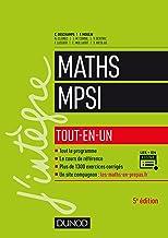 Livres Mathématiques MPSI : Tout-en-un (Concours Ecoles d'ingénieurs) PDF