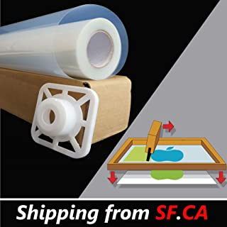 36 inches x 100ft / Roll,Premium Waterproof Inkjet Instant-Dry Transparency Positive Silk Screen Printing Film,great for EPSON,HP,CANON Water-Based Dye and Pigment Inks Printers 0.914m x 30m