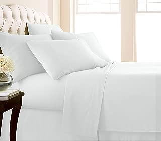 Southshore Fine Linens 6 Piece - Extra Deep Pocket Sheet Set - White - Queen