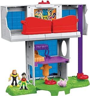 Imaginext Teen Titans Go Torre Dos Jovens Titãs Mattel Multicor Multicor