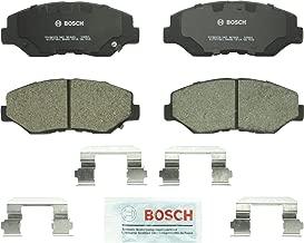 Bosch BC943 QuietCast Premium Ceramic Disc Brake Pad Set For: Honda Accord, Pilot, Front