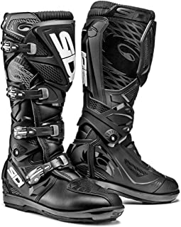 Sidi X-3 SRS Off Road Motorcycle Boots Black US10/EU44 (More Size Options)