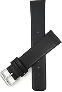 Screw Fit, Genuine Leather Replacement Watch Band Strap for Skagen Watches, Attaches with Screws, 5 Colors, 12mm, 14mm, 16mm 18mm, 20mm, 22mm, 24mm, 26mm, 28mm, 30mm, 31mm