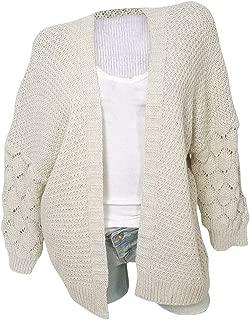 Women's Long Sleeve Classic Sweater Knit Sweater Cardigan Open Front Kimono Casual Soft Outwear