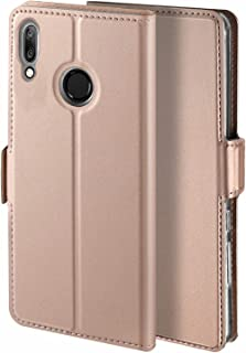 Libra_J Case for Huawei Y7 2019 case, [Stand Function] [Card Slot] [Magnet] [Anti-Slip] Premium Leather Flip Case Cover fo...