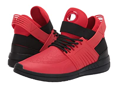 Supra Skytop V (Risk Red/Black/Black) Men