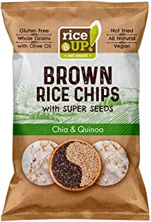 Rice up Chips Super Seeds Chia & Quinoa, 60 gm (Pack of 1)