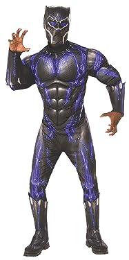 Rubie's Men's Marvel: Avengers 4 Deluxe Purple Battle Black Panther Adult Costume