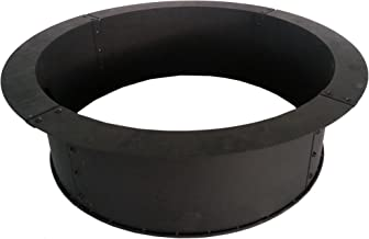 Pleasant Hearth OFW419FR Solid Steel fire Ring, Black