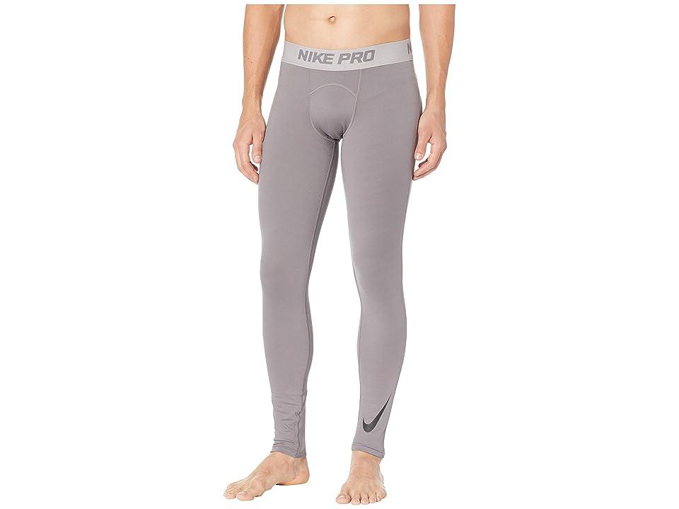 Nike Pro Thermal Tights (Gunsmoke/Atmosphere Grey/Black) Men