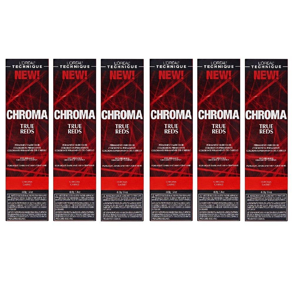 favorite L'Oreal True Denver Mall Reds Chroma Garnet Color HC-229 Permanent Tint Hair