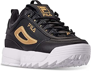 fgjhfd Fila Kids Disruptor II Metallic Flag Sneakers