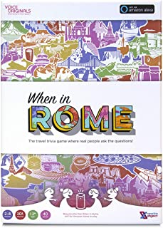 Sensible Object Voice Originals When in Rome Board Game
