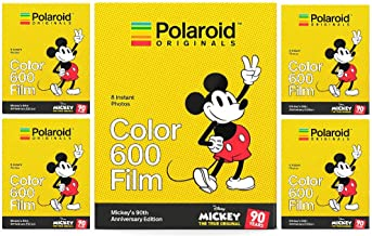 Polaroid Originals Mickey Mouse 90th Anniversary Edition Instant 600 Film (5 PK)
