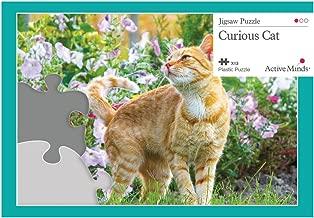 Active Minds 13 Piece Curious Cat Jigsaw Puzzle   Specialist Alzheimer's/Dementia Activities & Games