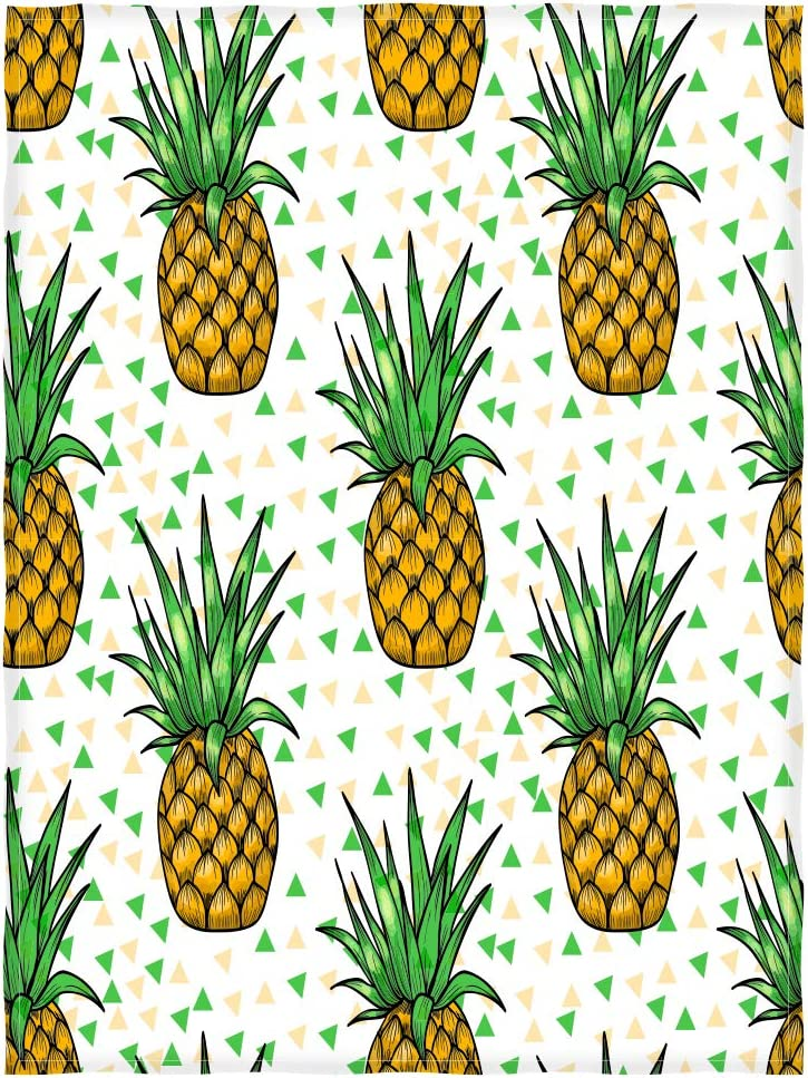 Kameng Bright Pineapples All items free shipping Pattern Throw Super-cheap Comfort So Warmth Blanket