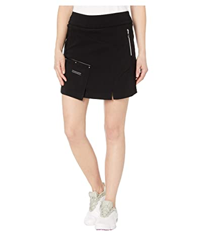 Jamie Sadock Skinnylicious Skort with Control Top Panel (Jet Black) Women