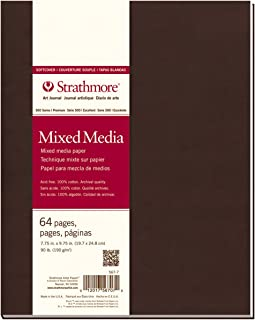 Strathmore 567-7 500 Series Softcover Mixed Media Art Journal, 7.75