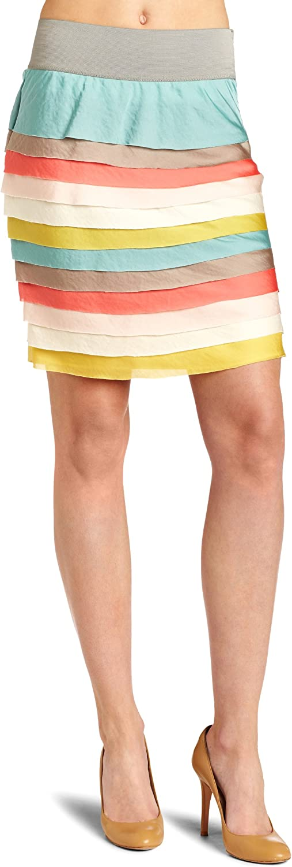 ArynK Women's Sweet Tiered Skirt